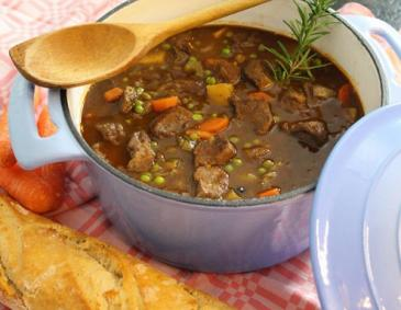 Irish Stew mit Erbsen