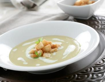 Vichyssoise Lauchcremesuppe