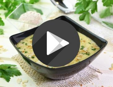 Video - Pastinakencremesuppe mit Zimt-Obers
