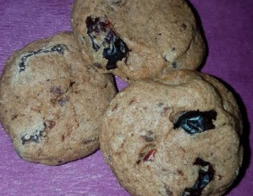 Schoko-Cranberry-Cookies