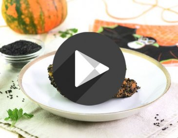 Video - Halloween-Kürbisschnitzel
