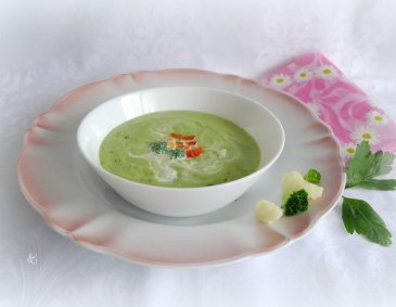 Karfiol-Brokkoli-Suppe