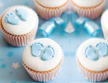 Babyparty Cupcakes