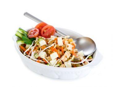 die besten vegetarischen salate. Black Bedroom Furniture Sets. Home Design Ideas