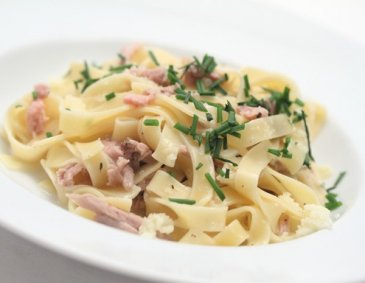 Truthahn Carbonara