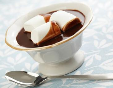 Hot Chocolate mit Marshmallows