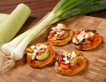 "Mini-Pizze ""Verdure"""