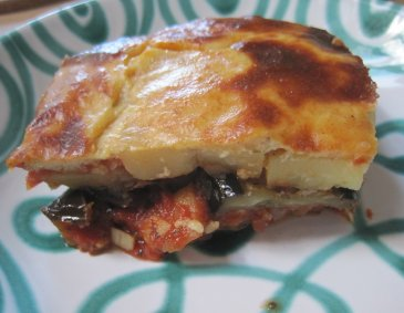 Vegetarisches Moussaka