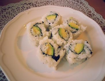 Avocado Ura-Makis