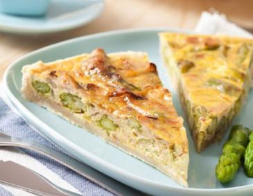 Tiroler Spargel-Quiche
