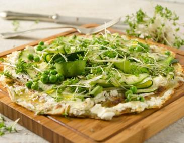 Veggie-Palatschinken-Pizza