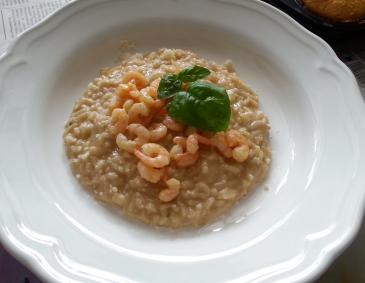 Shrimps-Risotto