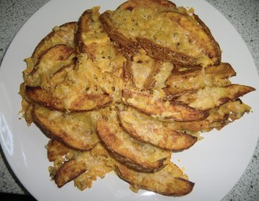 Überbackene Potato-Wedges