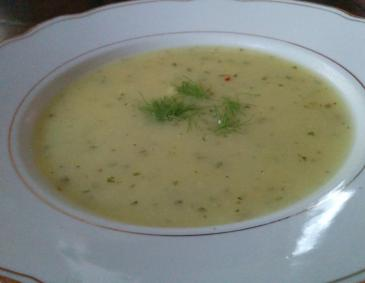 Fenchel-Erdäpfel-Suppe