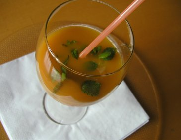 Papaya-Mango-Drink