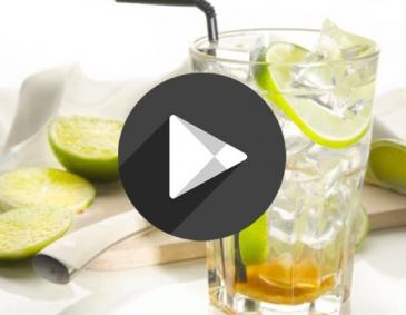 Video für den perfekten Caipirinha