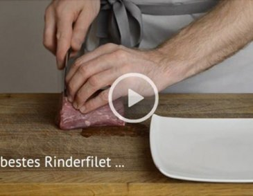 Video - Carpaccio schneiden
