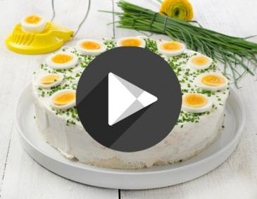 Video - Pikante Sandwichtorte