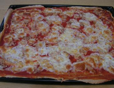 Thunfischpizza