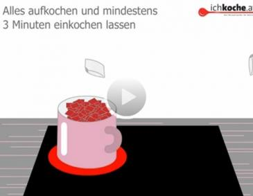 Video - Erdbeermarmelade