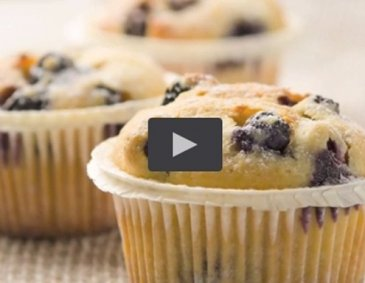 Video - Heidelbeer-Muffins