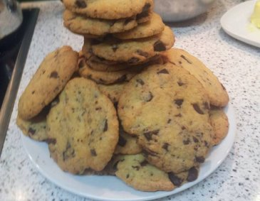 American Chocolate-Chip-Cookies