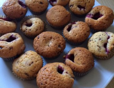 Himbeer-Muffins