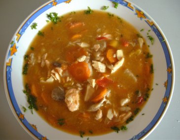 Fischsuppe a la Sigrid