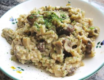 Champignonrisotto