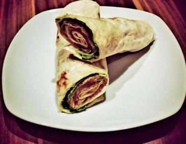 Avocado-Lachs-Wraps