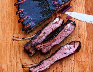Hot Chili & Cherry Ribs