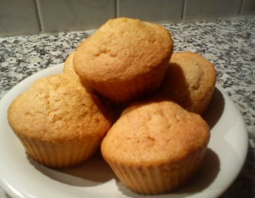 Marzipan-Muffins