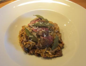 Risotto con fegatini all emiliana