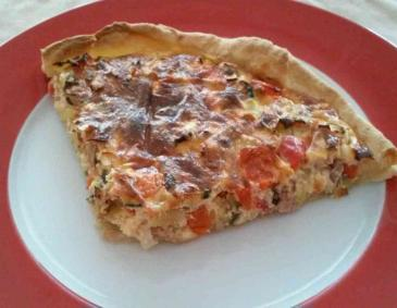 Thunfisch-Quiche