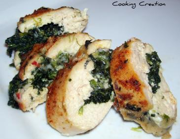 Cajun Stuffed Chicken