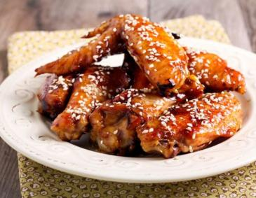 Chicken Wings mit Sesam