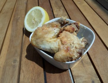 Chicken Wings mit Zitronen-Joghurt-Marinade