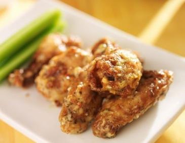 Chicken Wings mit Parmesan