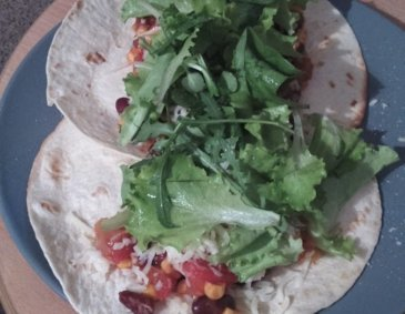 Vegetarische Wraps