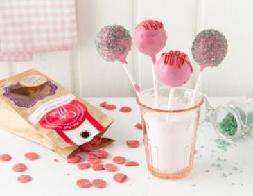 Vollkorn-Rosinen Cake Pops