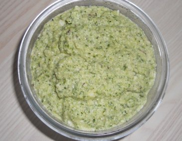 Petersil-Minz-Pesto