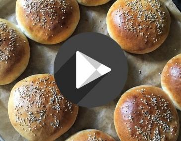 Video - Burger-Brötchen