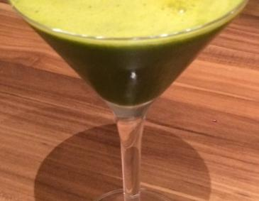 Grüner Wellness Smoothie