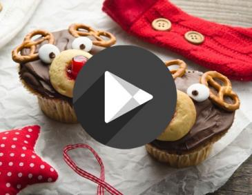 Video - Rudolph-Cupcakes