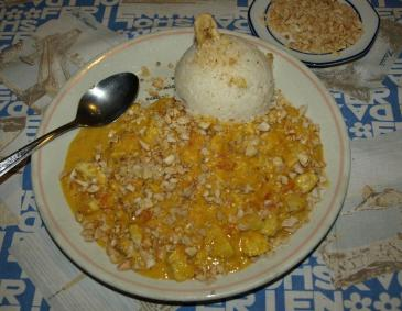 Papaya-Curry-Huhn