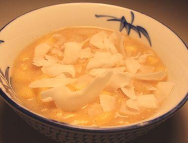 Riževa kaša z vanilijo in kokosom