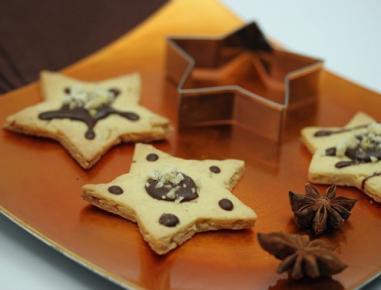 Čokoladne janeževe zvezdice