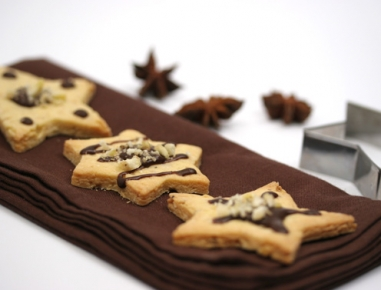 Čokoladni piškotki s cimetom