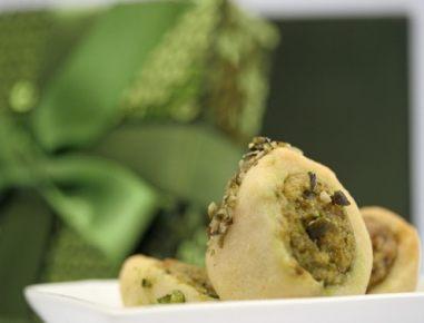 Marcipanove rolade z bučnimi semeni