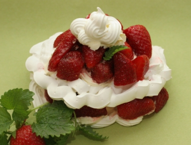 Jagodna torta za materinski dan